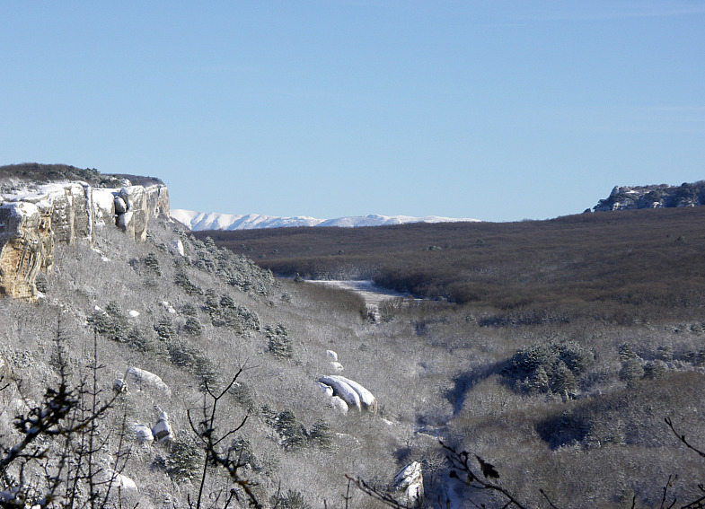 Пещерный город Эски-Кермен.