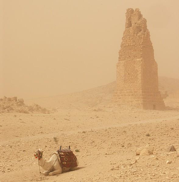 Песчаная буря в Долине Гробниц 2