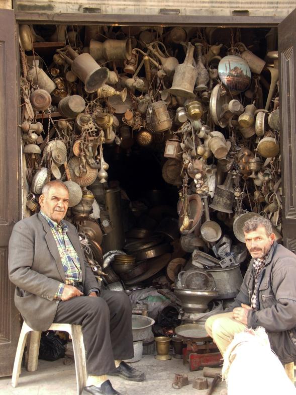 Мамуние, фуль и рынок кузнецов в Алеппо