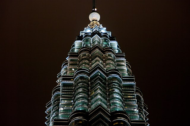 Куала-Лумпур. Petronas Towers.