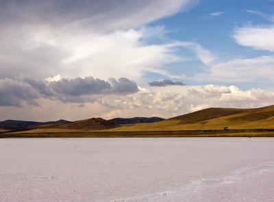 Соленое озеро Туз - турецкое Мёртвое море