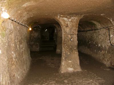 Подземные города Каппадокии.