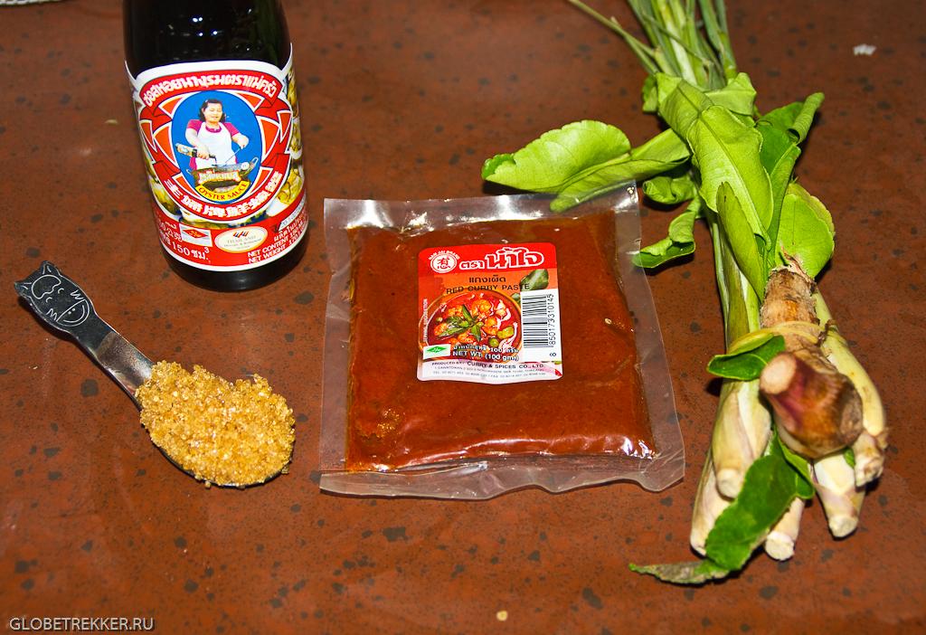рецепт приготовления супа том ям