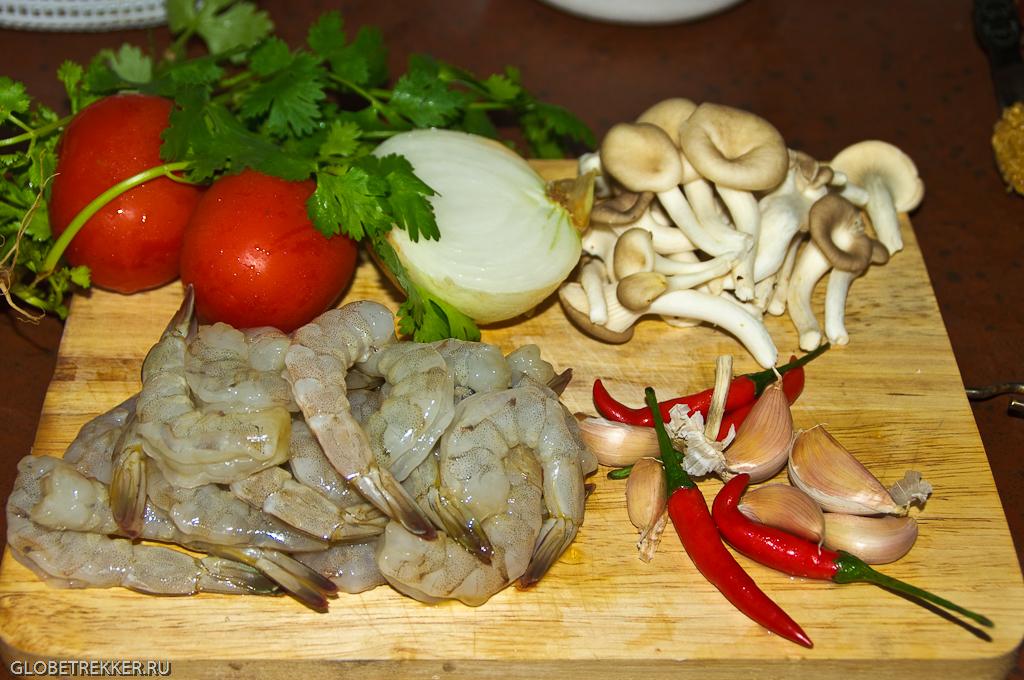 Суп том ка рецепт с креветками
