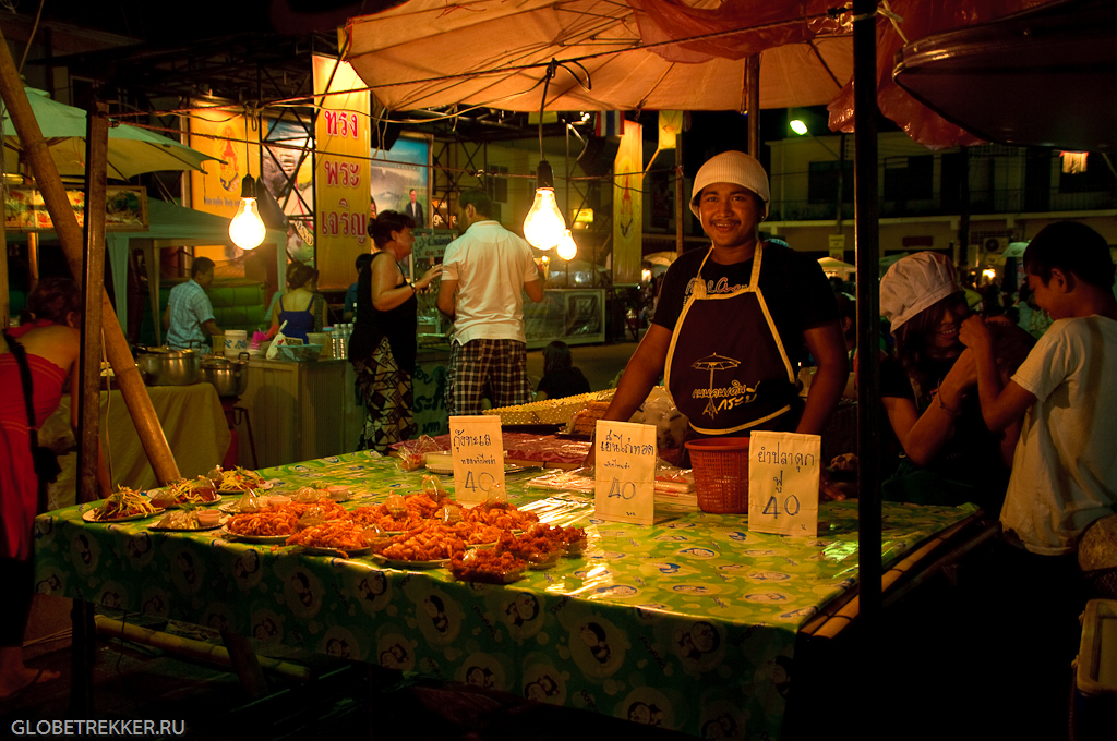 Чем питаться в Таиланде: тайская уличная еда 3