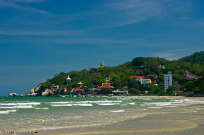 Наш любимый хуахинский пляж - Као Тао 18