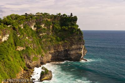 Балийский край земли - храм Улувату  10