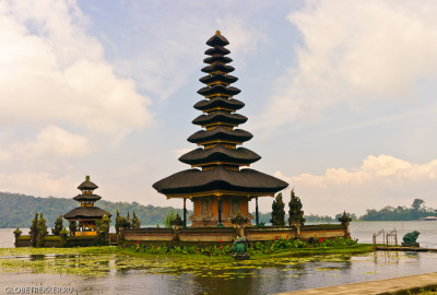 Озера Братан, Буян и Тамблинган. Храм Пура Улун Дану. 11