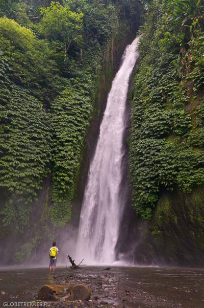 Водопад Мундук, кофейные плантации и дерево-тоннель 3
