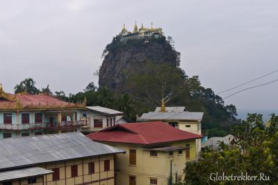 Гора Попа - жилище натов 1