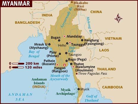 Путеводитель по Мьянме 6