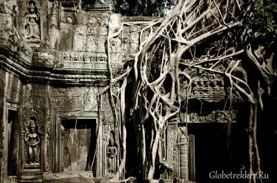 """""""Большой Круг"""" Ангкора: Пре Руп, Ник Пеан, Та Сом, Бантеай Гдей, Сра Сранг, Та Пром, Прасат Краван 49"""