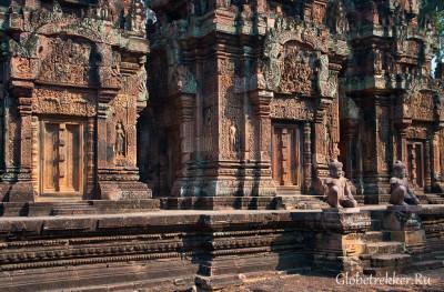 Дальние храмы Кбал Спин и Бантеай Срей, и наконец-то Ангкор Ват 1