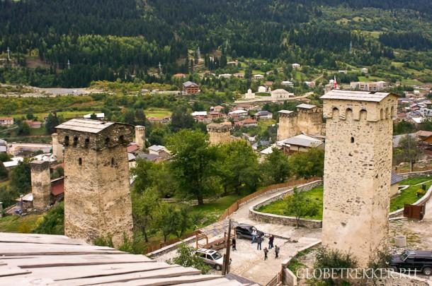 Местия: башни, горцы и современная архитектура