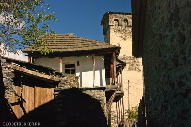 Пешком из Местии в общину Мулахи