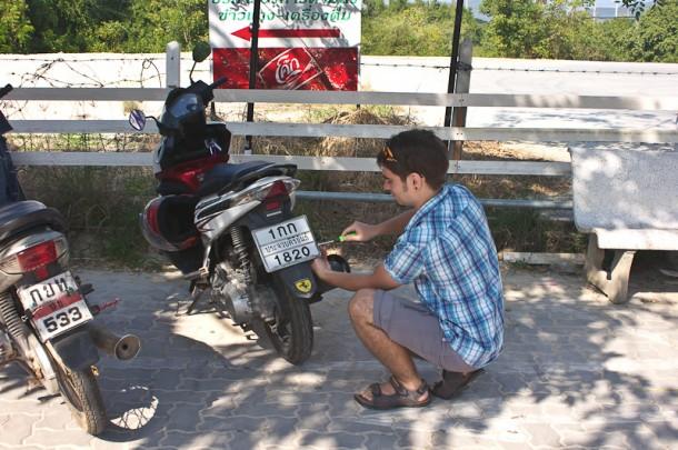 Покупка подержанного байка в Таиланде: выбор, регистрация, налог, страховка