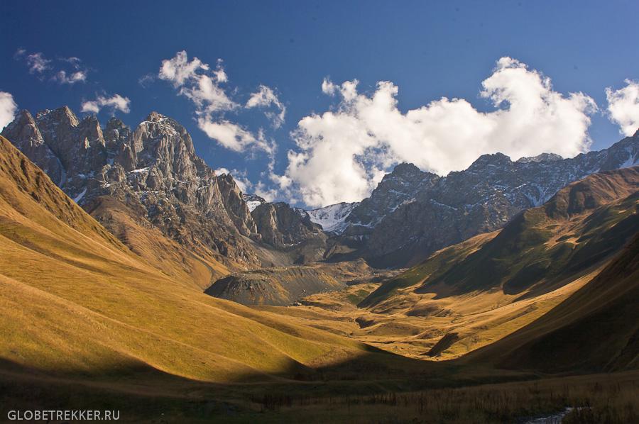 Долина Сно, ущелье Джута и массив Чаухи 11
