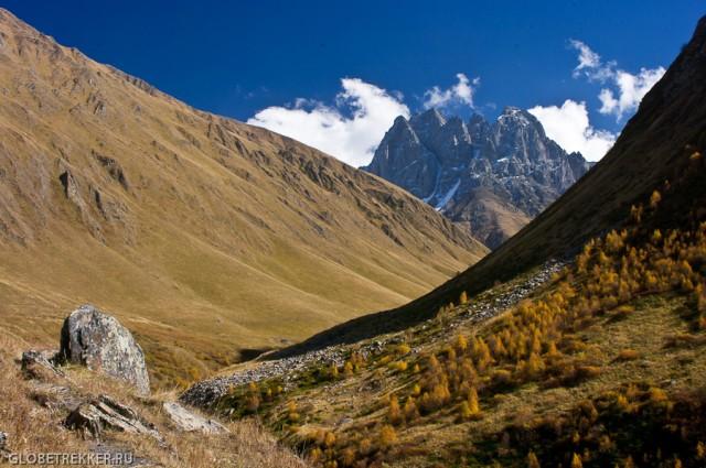 Долина Сно, ущелье Джута и массив Чаухи