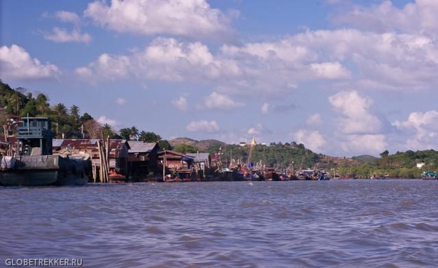 Виза ран из Хуа Хина в Бирму (Ранонг) на машине
