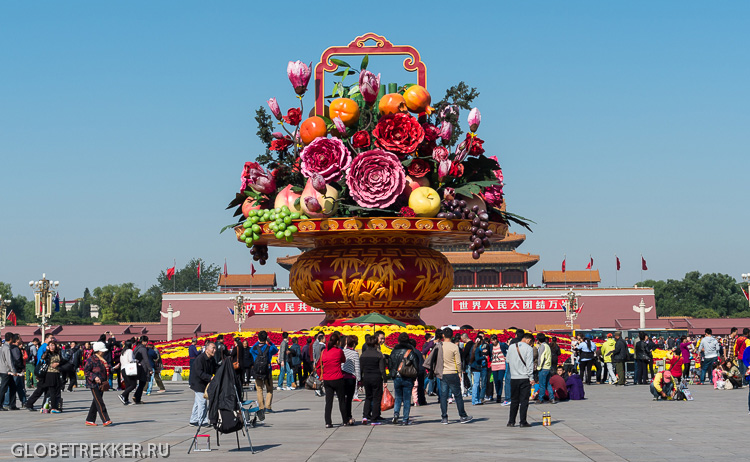 Пекин: Площадь Тяньаньмэнь 6