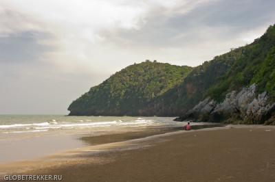 Пляж Као Калок и скала с дыркой 6