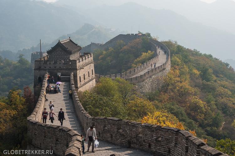 Великая Китайская Стена Мутяньюй 慕田峪长城 12