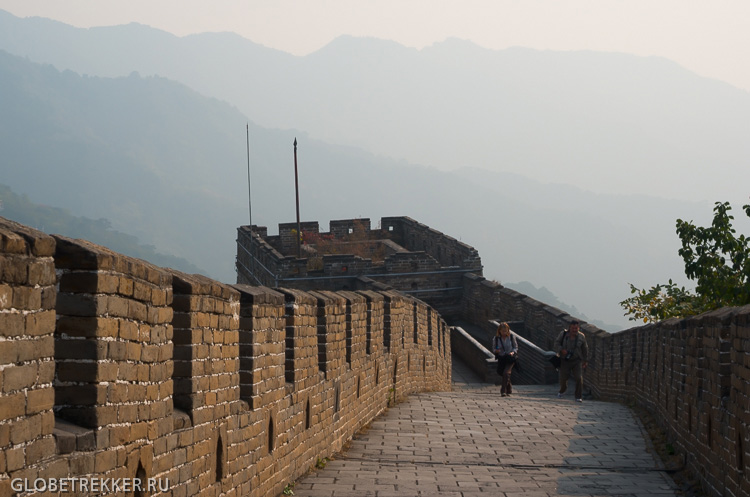 Великая Китайская Стена Мутяньюй 慕田峪长城