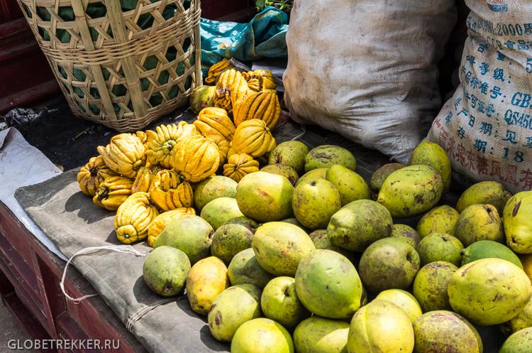 Традиционный рынок в Шапине