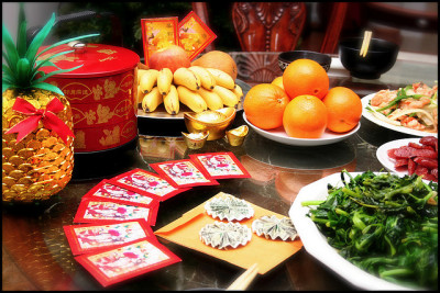 Что едят на Китайский Новый Год в Таиланде?