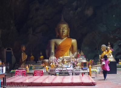 Пещера лежащего Будды Као Луанг в Петчабури 9