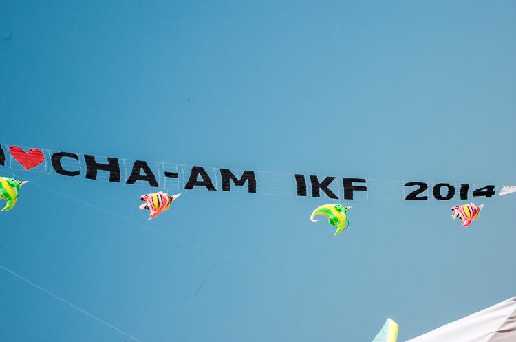 Фестиваль воздушных змеев в Ча-Аме 10
