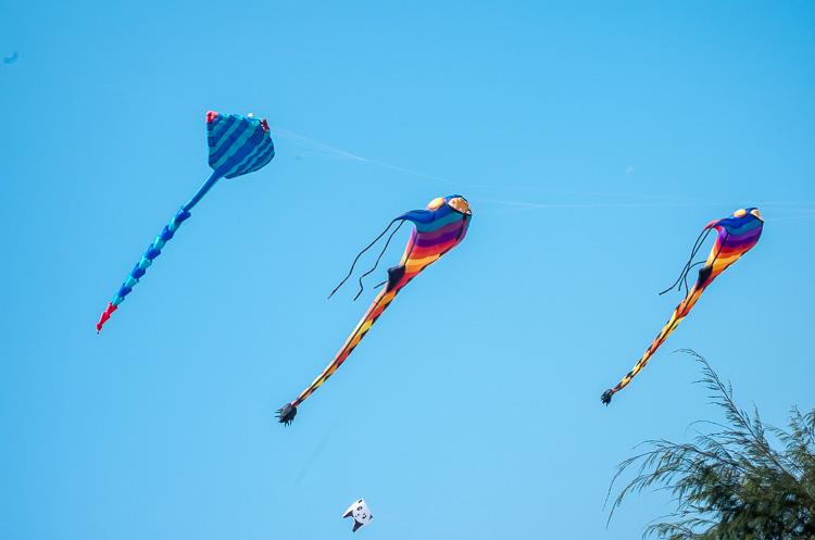 Фестиваль воздушных змеев в Ча Аме