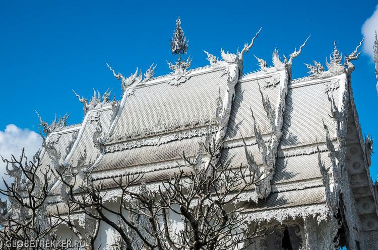 Белый Храм Wat Rong Khun в Чианг Рае   буддизм и современное искусство