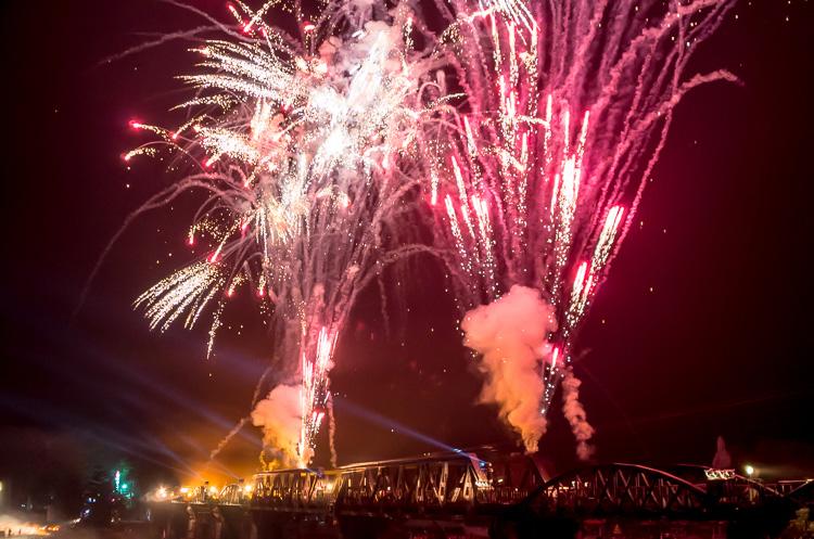 Фестиваль Моста через реку Квай в Канчанабури