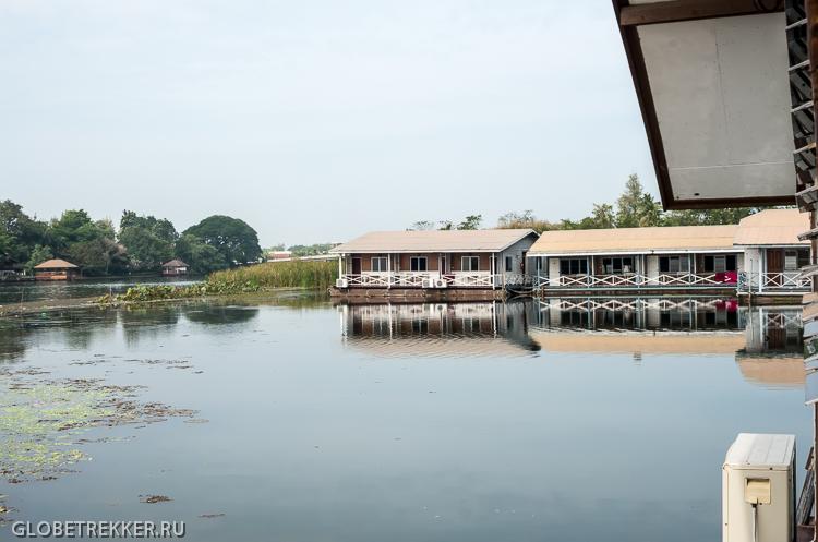 Плавучие отели на реке Квай в Канчанабури