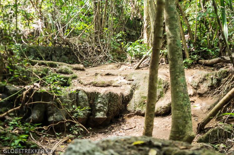 Водопад Эраван в Канчанабури: природный аквапарк