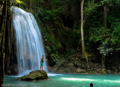 Водопад Эраван в Канчанабури: природный аквапарк 3