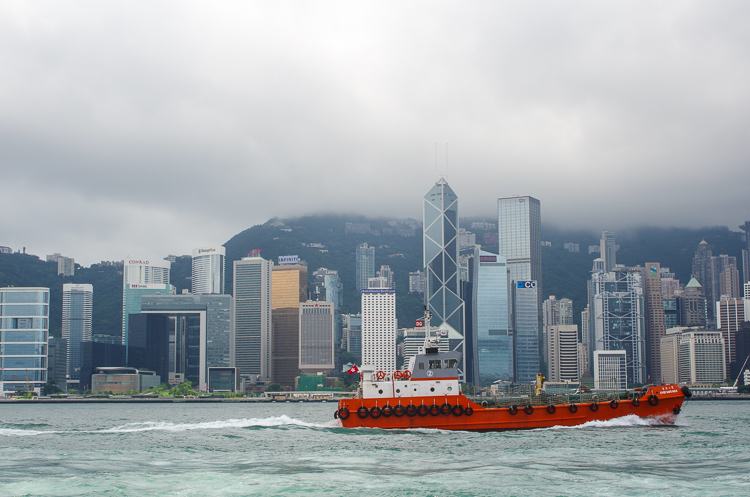 Аллея Звезд и лазерное шоу Symphony of Lights в Гонконге 1