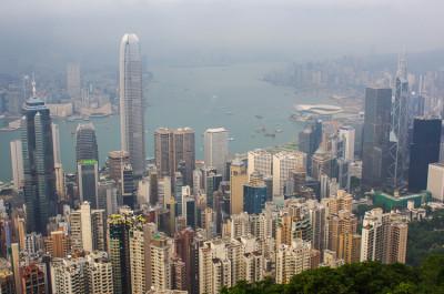 Пик Виктория в Гонконге 44