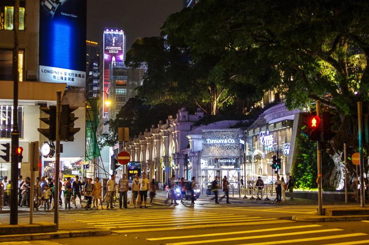 Пик Виктория в Гонконге