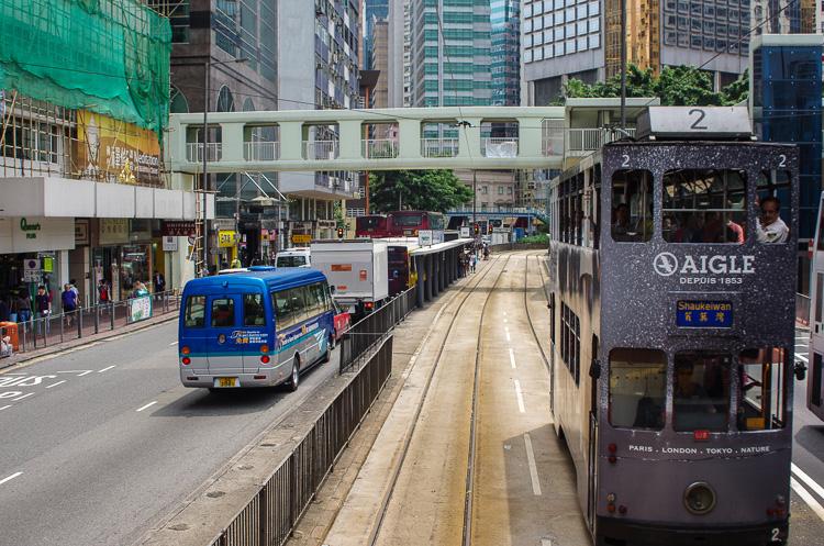 Гонконгские трамваи   самые двухэтажные трамваи в мире