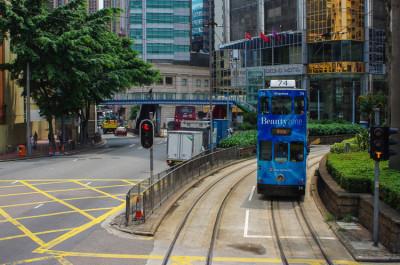 Гонконгские трамваи - самые двухэтажные трамваи в мире 8