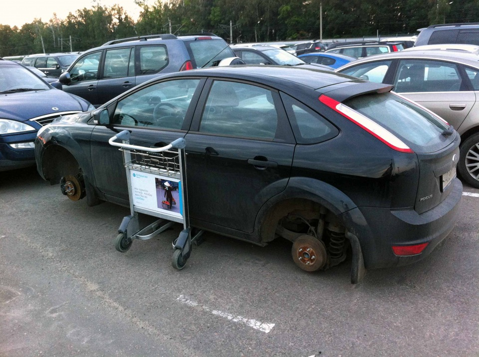 Длительная парковка в Домодедово 49