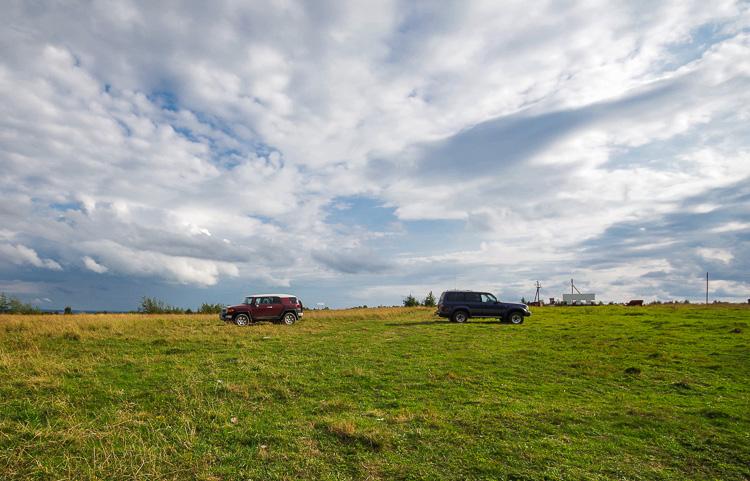 Из Вытегры в Пудож: Андома Гора и Саминский Погост