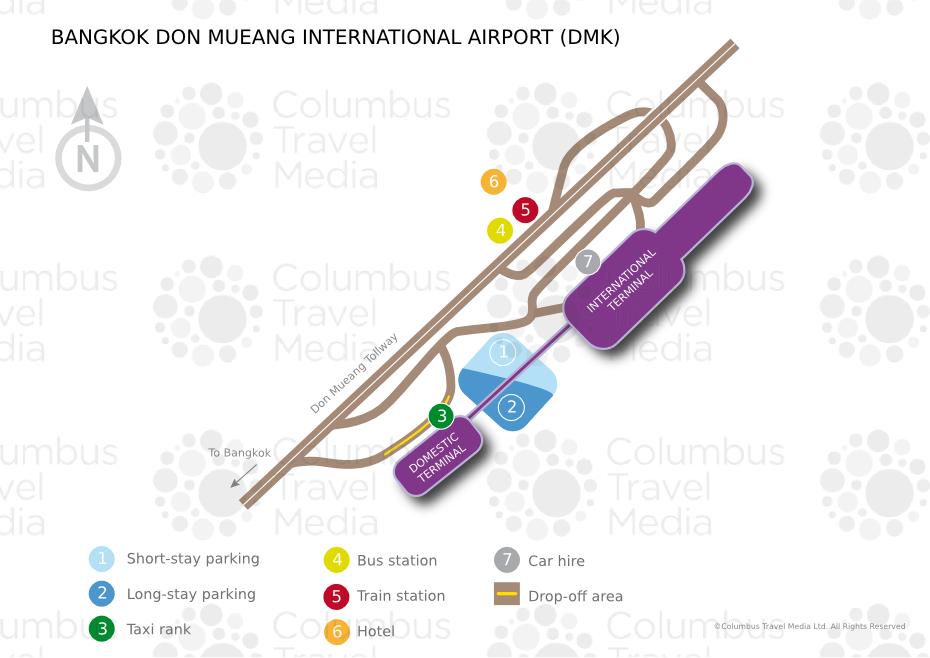 Как добраться из Дон Муанга в