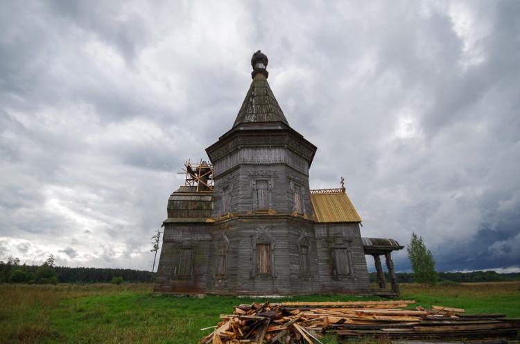 Окрестности Каргополя: Красная Ляга и Большая Шалга