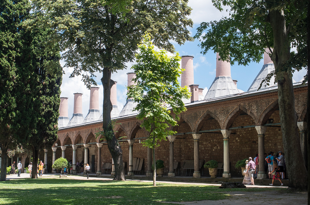 Дворец Топкапы   скучный музей и лучшие виды на Стамбул