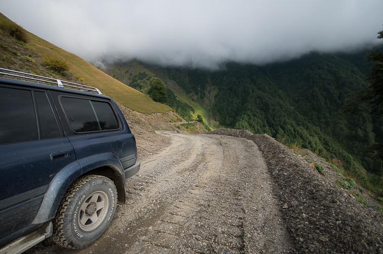 Самая опасная дорога Грузии или Почему Мимино летал на вертолёте