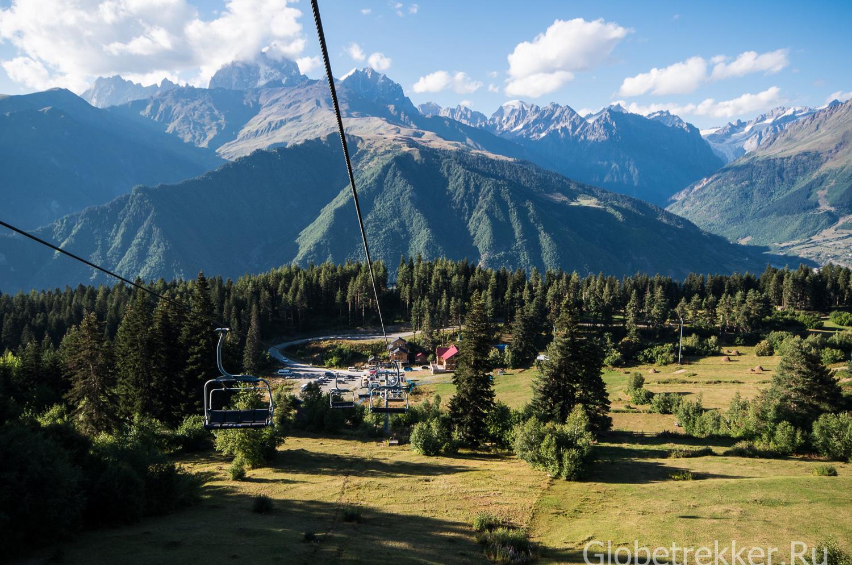 Хацвали - горнолыжный курорт в Местии, Сванетия 12